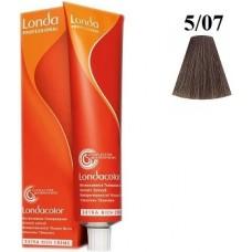 Vopsea profesionala semi permanenta - 5/07 - Extra Cover - Londacolor - Londa Professional - 80 ml