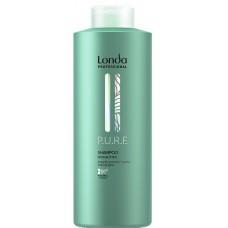 Sampon hidratant din ingrediente naturale - Shampoo - PURE - Londa Professional - 1000 ml