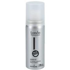 Fixativ cu fixare extra puternica - Spray - Lock It - Style - Londa Professional - 50 ml