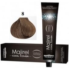 8 - Cool Cover - Majirel - L'oreal Professionnel - Vopsea profesionala - 50 ml