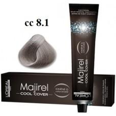 8.1 - Cool Cover - Majirel - L'oreal Professionnel - Vopsea profesionala - 50 ml