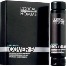 Gel colorant pentru barbati - Coloration Gel - Homme - Cover 5 No.6 - L'Oreal Professionnel - 3*50ml