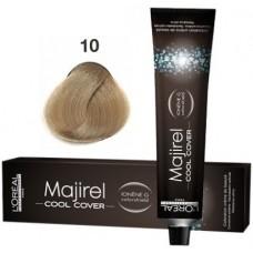 Vopsea profesionala - 10 - Cool Cover - Majirel - L'oreal Professionnel - 50 ml