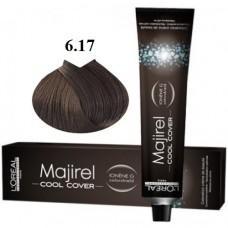 Vopsea profesionala - 6.17 - Cool Cover - Majirel - L'oreal Professionnel - 50 ml