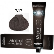 Vopsea profesionala - 7.17 - Cool Cover - Majirel - L'oreal Professionnel - 50 ml