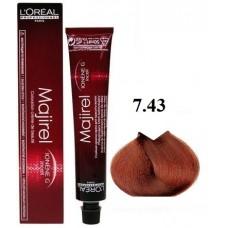 Vopsea profesionala - 7.43 - Majirel - L'oreal Professionnel - 50 ml
