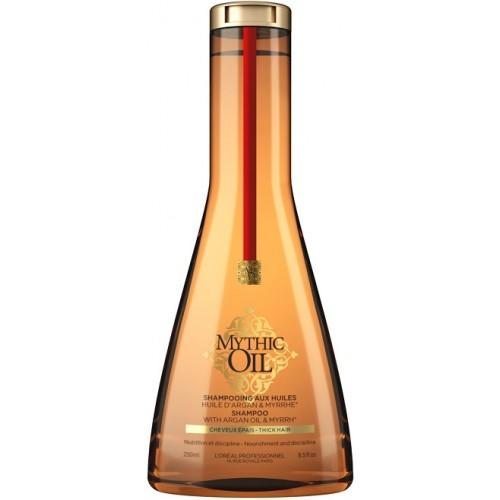 Sampon Hranitor Pentru Par Gros - Shampoo With Argan & Myrrh - Mythic Oil - L'oreal Professionnel - 250 Ml