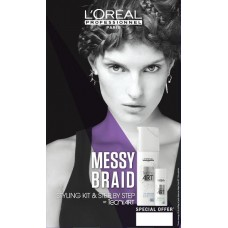 Kit Messy Braid L'oreal Professionnel