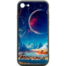 "Husa eleganta ultra-subtire de lux pentru iPhone 7/8, patern - Luxury ultra-thin case for iPhone 7/8, patern ""Night Decor"""