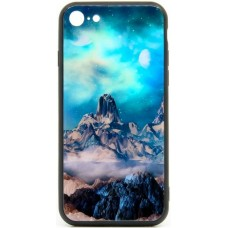 "Husa eleganta ultra-subtire de lux pentru iPhone 7/8, patern - Luxury ultra-thin case for iPhone 7/8, patern ""The mountain fair"""