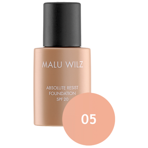 Fond De Ten Ultra Rezistent Spf 20 - Absolute Resist Foundation 05 - Malu Wilz