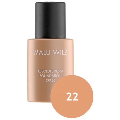 Fond De Ten Ultra Rezistent Spf 20 - Absolute Resist Foundation 22 - Malu Wilz
