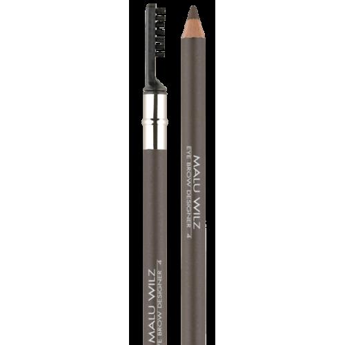 Creion Pentru Sprancene Cu Periuta - Eyebrow Designer 4 - Malu Wilz