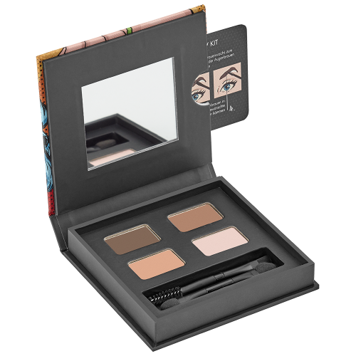 Kit Profesional Pentru Sprancene - Professional Eyebrow Kit - Malu Wilz