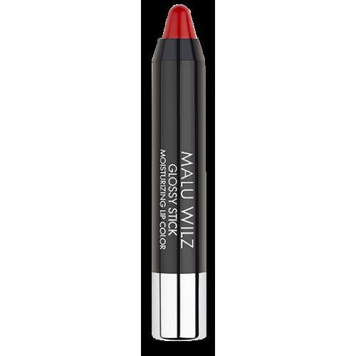 Gloss Hidratant - Glossy Stick Moisturizing Lip Color - Malu Wilz - 3 Gr - Nr. 1