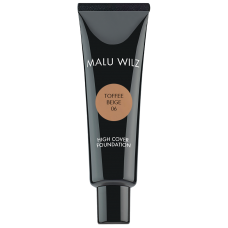 Fond de ten fluid cu acid hialuronic (fara parabeni) - High Cover Foundation - Malu Wilz - 30 ml - Nr. 06