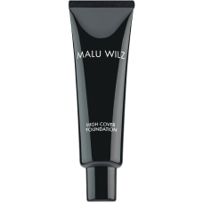 Fond de ten fluid cu acid hialuronic (fara parabeni) - - High Cover Foundation - Malu Wilz - 30 ml - Nr. 10