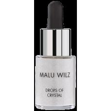Elixir cu particule stralucitoare pentru fata si corp - Drops Of Crystal - Malu Wilz - 14 ml