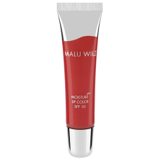 Gloss nutritiv SPF 10 cu Acid hialuronic - Moisture Plus Lip Color Fruity - Strawberry 15 - MALU WILZ