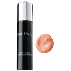 Fond de ten cu efect satinat - Nr. 06 - Satin Finish Liquid Foundation - MALU WILZ - 30 ml