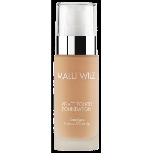 Fond De Ten Luxuriant Cu Acid Hialuronic Pentru Toate Tipurile De Ten - Velvet Touch Foundation 01 - Malu Wilz - 30 Ml