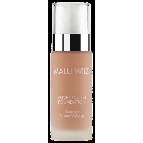 Fond De Ten Luxuriant Cu Acid Hialuronic Pentru Toate Tipurile De Ten - Velvet Touch Foundation 03 - Malu Wilz - 30 Ml