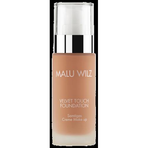 Fond De Ten Luxuriant Cu Acid Hialuronic Pentru Toate Tipurile De Ten - Velvet Touch Foundation 07 - Malu Wilz - 30 Ml