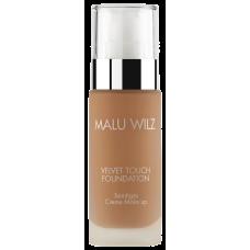 Fond de ten luxuriant cu acid hialuronic pentru toate tipurile de ten - Velvet Touch Foundation 12 - MALU WILZ - 30 ml
