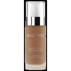 Fond de ten luxuriant cu acid hialuronic pentru toate tipurile de ten - Velvet Touch Foundation 18 - MALU WILZ - 30 ml