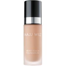 Fond de ten luxuriant cu acid hialuronic pentru toate tipurile de ten - Velvet Touch Foundation 32 - MALU WILZ - 30 ml