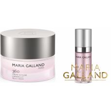 Kit anti-imbatranire pentru luminozitatea si hidratarea tenului - 360 Lumin'eclat Silky - Maria Galland - 2 produse cu 7% discount