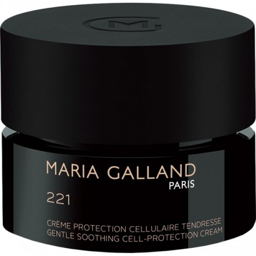 Crema Rosie De Zi Pentru Ten Sensibil Cu Spf 8 - 221 Gentle Soothing Cell-protection Cream - Maria Galland - 50 Ml