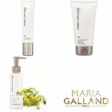 Kit pentru demachierea si curatarea tenului - Cleansing - Maria Galland - 3 produse cu 15% discount