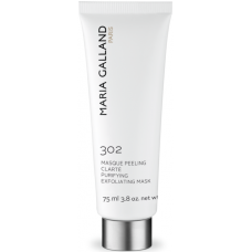 Masca exfolianta cu efect purificator - 302 - Purifying Exfoliating Mask - Maria Galland - 75 ml