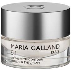 Crema pentru ochi Nutri-Contur - Enriched Eye Cream 93 - Maria Galland - 15 ml