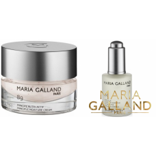 Kit ultra regenerant si hidratant - crema 89 + ser 94 - Regeneration for dry skin - Maria Galland - 2 produse cu 25% discount