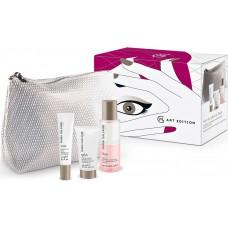 Set cadou pentru ingrijirea pielii din jurul ochilor - 100, 96A & 65A - Magnificent Eyes Pouch Hydration - Maria Galland
