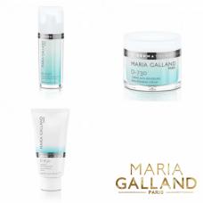 Kit intensiv anti roseata - crema D-730 + ser D-530 + masca D-830 - System dermatological - Anti Couperose - Maria Galland - 3 produse cu 15% discount
