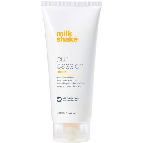 Masca Intens Hidratanta Anti-electrizare Pentru Parul Cret - Mask - Curl Passion - Milk Shake - 200 Ml
