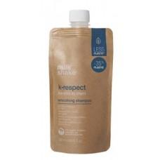 Sampon pentru netezirea parului cu keratina - Smoothing Shampoo - K-Respect - Milk Shake - 250 ml