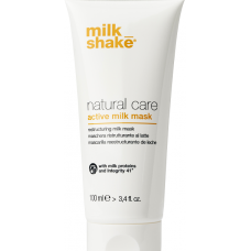 Masca reconstructoare pe baza de proteine de lapte pentru par uscat si deteriorat - Active Milk Mask - Natural Care - Milk Shake - 100 ml