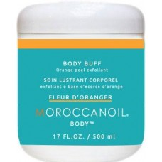 Exfoliant pentru corp cu extract de portocala - Body Buff Orange - Body Line - Moroccanoil - 500 ml