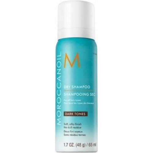 Sampon Uscat Pentru Curatarea Parului Inchis La Culoare - Dry Shampoo - Dark Tones - Moroccanoil - 65 Ml