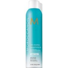 Sampon uscat pentru curatarea parului deschis la culoare - Dry Shampoo - Light Tones - Moroccanoil - 205 ml