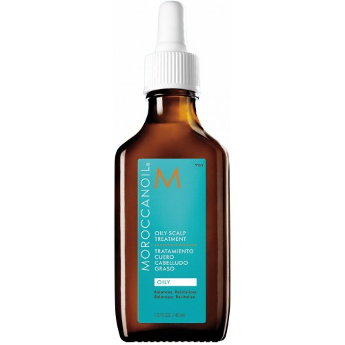 Tratament Pentru Scalp Seboreic - Oily Scalp Treatment - Oily - Moroccanoil - 45 Ml