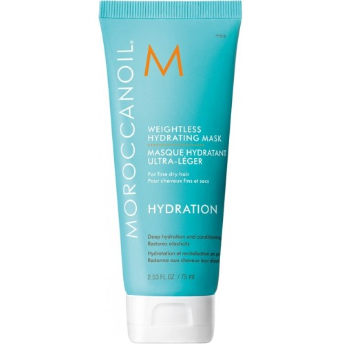 Masca Intens Hidratanta Light - Weightless Hydrating Mask - Hydration - Moroccanoil - 75 Ml