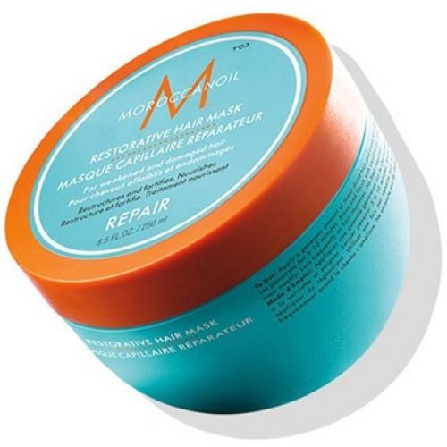 Mască Reparatoare Pentru Par Degradat - Restorative Hair Mask - Repair - Moroccanoil - 500 Ml