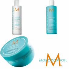 Kit mic pentru netezire - sampon + balsam + masca - Smoothing - Moroccanoil - 3 produse cu 37% discount