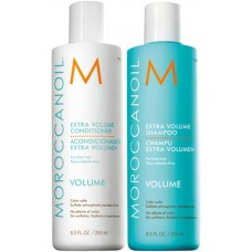 Kit pentru volum - sampon si balsam Extra Volume - 2 x 250 ml - Volume Line - Moroccanoil - 2 produse cu 10% discount