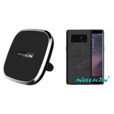 Kit auto încarcare wireless pentru pentru Samsung Galaxy Note 8 - Car Charger - Nillkin - 2 produse cu 30.91% discount